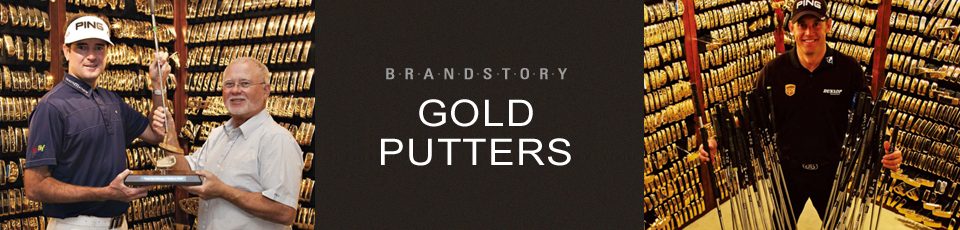 GOLD PUTTERS